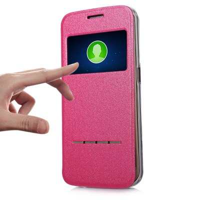 ФОТО Matte Leather Protective Skin for Samsung Galaxy S6 Edge Plus