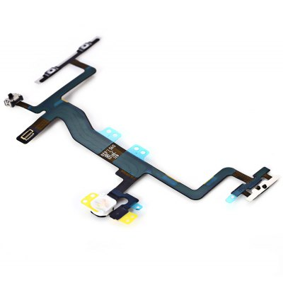 Power Volume Button Microphone Flex Cable Replace Part for iPhone 6s