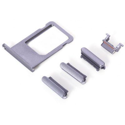 SIM Card Tray Slot with Side Buttons Mobile Phone Spare Parts Replacements for iPhone 6s