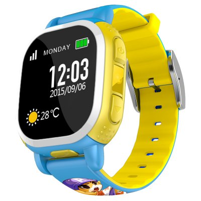 Tencent QQ Watch American Edition Children 1.22 inch GPS Smartwatch Phone