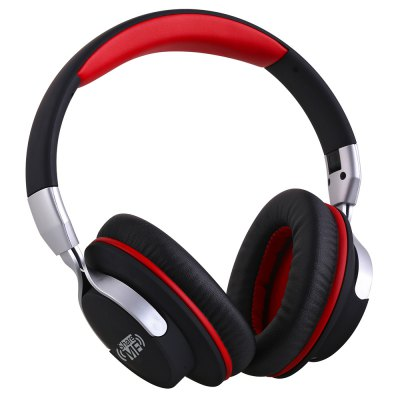 AUSDOM AH861 Wired and Wireless Bluetooth Headband Audio Headphones with Mic