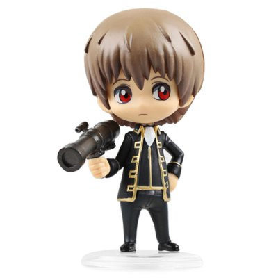 10cm Height GINTAMA Style Toy Table / Bookshelf Ornamentation Gift for Kids