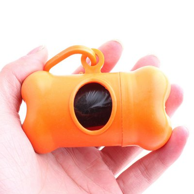 PP Dog Bone Type Dispenser Poop Bag Holder