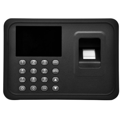 A6 2.8 inch Screen Biometric Fingerprint Attendance Machine