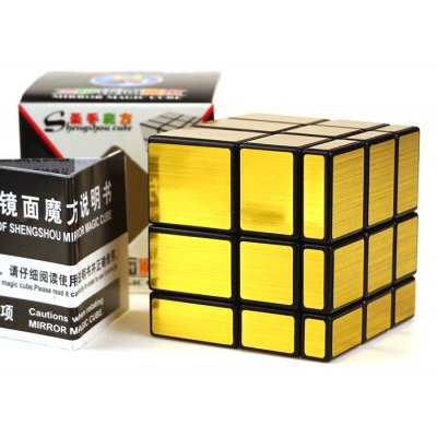 Shengshou Cube Mirror 5.7cm Height Black Base Cube Portable Intelligent Toy