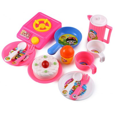 Kids Cooking Pretend Play Toy Set