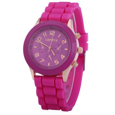 Geneva Female Analog Quartz Watch