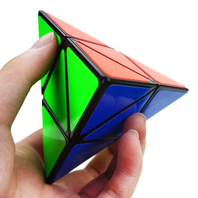 Shengshou Cube 9.8cm Length Mix-color Base Pyraminx Portable Intelligent ToyMagic Tricks<br>Shengshou Cube 9.8cm Length Mix-color Base Pyraminx Portable Intelligent Toy<br><br>Age: Above 6 year-old<br>Difficulty: Irregular style<br>Material: ABS<br>Package Contents: 1 x  Mini Cube<br>Package size (L x W x H): 9.80 x 9.80 x 9.80 cm / 3.86 x 3.86 x 3.86 inches<br>Package weight: 0.088 kg<br>Type: Magic Cubes