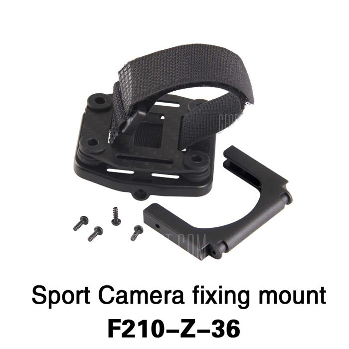 Extra F210 Z 36 Adjustable Action Camera Fixing Mount Set for Walkera F210 Multicopter RC Drone