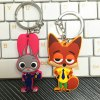 Fox Nick PVC Key Ring Pendant 6cm Bunny Shape Movie Product for sale