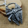 Key Ring Pendant Decoration Spaceship Shape Bottle Opener Movie Product for sale