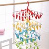 best Folding PP Clothes Hanger with 20 Racks