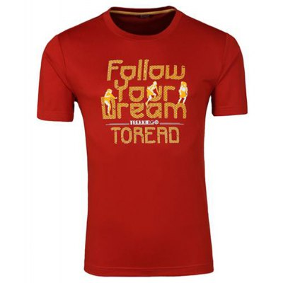 TOREAD Male Casual Fitness T-shirt Round CollarWeight Lifting Clothes<br>TOREAD Male Casual Fitness T-shirt Round Collar<br><br>Brand: Toread<br>Types: Short Sleeves<br>Size: 2XL,3XL,L,M,XL<br>Gender: Men<br>Color: Deep Blue,Gray,Orange,White<br>Product weight: 0.190KG<br>Package weight: 0.250 KG<br>Package size: 25.00 x 18.00 x 2.00 cm / 9.84 x 7.09 x 0.79 inches<br>Package Content: 1 x TOREAD Male Casual Fitness T-shirt