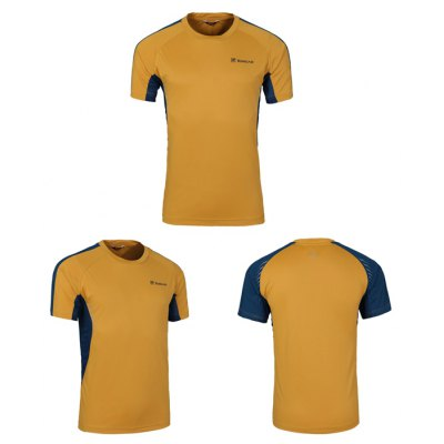 TOREAD Male T-shirt Reflective Stripe PatternWeight Lifting Clothes<br>TOREAD Male T-shirt Reflective Stripe Pattern<br><br>Brand: Toread<br>Types: Short Sleeves<br>Size: 2XL,3XL,L,M,XL<br>Features: Breathable,Quick Dry<br>Gender: Men<br>Material: Polyester<br>Color: Blue,Gray,Yellow<br>Product weight: 0.180KG<br>Package weight: 0.240 KG<br>Package size: 25.00 x 18.00 x 2.00 cm / 9.84 x 7.09 x 0.79 inches<br>Package Content: 1 x TOREAD Male T-shirt