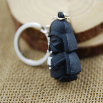 Black Soldier Key Ring Pendant 4cm Movie Product