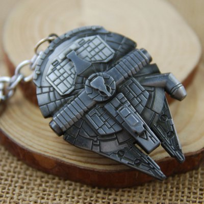 Millennium Falcon Model Key Ring Pendant Decoration Spaceship Shape Movie ProductKey Chains<br>Millennium Falcon Model Key Ring Pendant Decoration Spaceship Shape Movie Product<br><br>Materials: Zinc Alloy<br>Theme: Movie and TV<br>Gender: Unisex<br>Design Style: Fashion<br>Stem From: Europe and America<br>Package weight: 0.050 kg<br>Package size: 12.00 x 10.00 x 1.00 cm / 4.72 x 3.94 x 0.39 inches<br>Package Contents: 1 x Key Chain