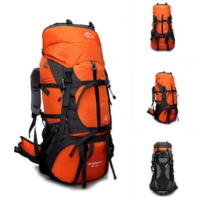 LOCAL LION 60L Water Resistant Trekking Backpack