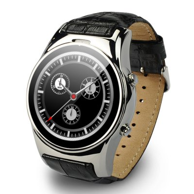 Aiwatch G3 Smartwatch PhoneSmart Watch Phone<br>Aiwatch G3 Smartwatch Phone<br><br>Type: Watch Phone<br>CPU: MTK2502<br>RAM: 64MB<br>ROM: 128MB<br>External Memory: TF card up to 32GB (not included)<br>Compatible OS: Android,IOS<br>Wireless Connectivity: Bluetooth,GSM<br>Network type: GSM<br>Frequency: GSM850/900/1800/1900MHz<br>Bluetooth: Yes<br>Bluetooth version: V4.0<br>Screen type: Capacitive<br>Screen size: 1.3 inch<br>IPS: Yes<br>Screen resolution: 240 x 240<br>Camera type: No camera<br>SIM Card Slot: Single SIM(Micro SIM slot)<br>TF card slot: Yes<br>Picture format: JPEG<br>Music format: MP3<br>Languages: English, French, Spanish, Portuguese, German, Turkish, Russian, Chinese<br>Additional Features: Alarm,Bluetooth,MP3,People,Sound Recorder<br>Functions: Anti-lost alert,Message,Music Sync Function,Pedometer,Remote Camera,Sedentary reminder,Sleep monitoring<br>Cell Phone: 1<br>Battery: 350mAh Built-in Battery<br>Charging Cable: 1<br>English Manual : 1<br>Product size: 4.60 x 4.90 x 1.50 cm / 1.81 x 1.93 x 0.59 inches<br>Package size: 9.70 x 9.70 x 8.30 cm / 3.82 x 3.82 x 3.27 inches<br>Product weight: 0.089 kg<br>Package weight: 0.228 kg