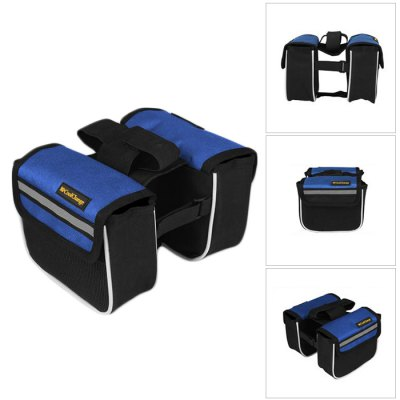CoolChange Bicycle Front Tube Bag Reflective Stripe