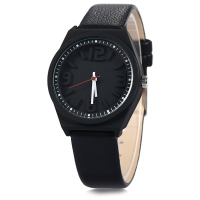 Mitina M295 Ladies Stereo Scales Japan Quartz Watch with Leather Band