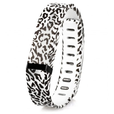 Leopard Style Rubber Band for Fitbit Flex