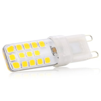 5pcs G9 4.5W SMD 2835 320Lm Dimmable LED Corn Bulb