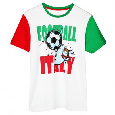 Xiaomi Fashion Rabbit Football Short Sleeves T-shirt