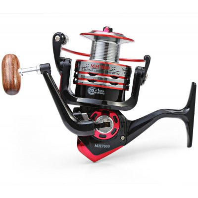 MH - 7000 11 Ball Bearings Spinning Fishing Reel 5.2 : 1