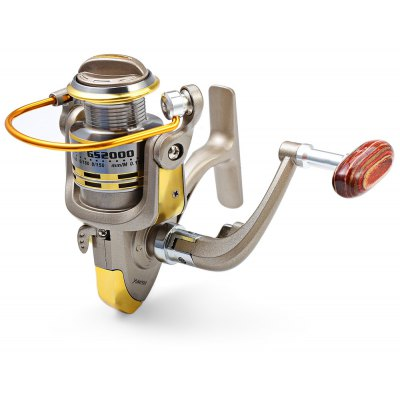 GS - 2000 12 Ball Bearings Spinning Fishing Reel 5.1 : 1