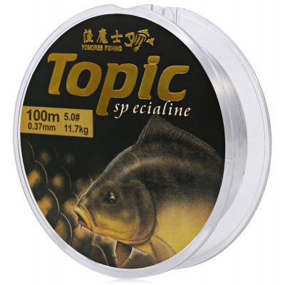 100M Nylon Transparent Fishing Line