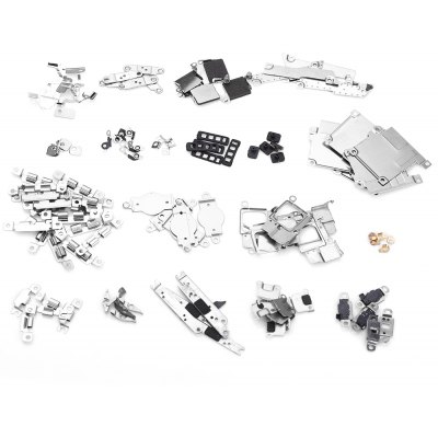 5 Sets Small Metal Parts Holder Bracket Shield Plate Home Logic Kits Replace Components for iPhone 5C