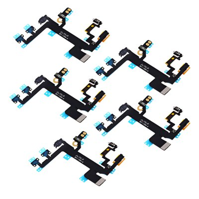 5Pcs Power On / OFF Flex Cable for iPhone 5S
