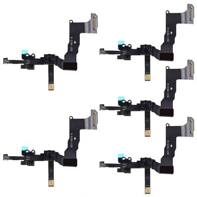 5Pcs Front Camera With Sensor Flex Cable Ribbon Assembly Replace Parts for iPhone 5s