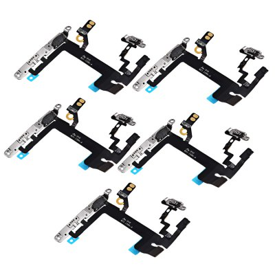 5Pcs / Set On / OFF Power Flex Cable for iPhone 5s