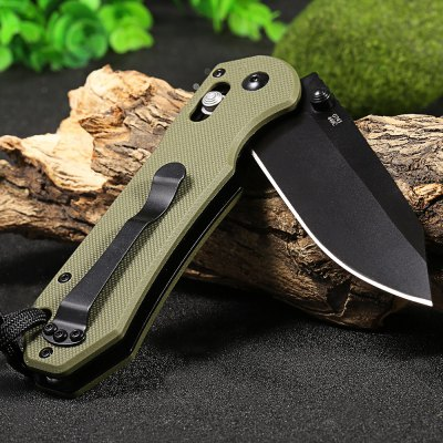Ganzo G7453-GR-WS Axis Lock Pocket KnifePocket Knives and Folding Knives<br>Ganzo G7453-GR-WS Axis Lock Pocket Knife<br><br>Brand: GANZO<br>Model Number: G745<br>Lock Type: Axis Lock<br>Blade Edge Type: Fine<br>Blade Length Range: 5cm-10cm<br>Weight Range: 101g-200g<br>For: Adventure,Camping,Collecting,Hiking,Home use,Travel<br>Color: Army green,Black,Orange<br>Blade Material: 440C stainless steel<br>Handle Material: G10 handle<br>Fold Length: 12.0 cm<br>Unfold Length: 21.0 cm<br>Clip Length: 6.1 cm<br>Blade Length: 9.0 cm<br>Blade Width : 2.8 cm<br>Hardness: 58 HRC<br>Product weight: 0.142 kg<br>Package weight: 0.213 kg<br>Product size (L x W x H): 12.00 x 3.30 x 1.20 cm / 4.72 x 1.3 x 0.47 inches<br>Package size (L x W x H): 15.50 x 6.50 x 4.50 cm / 6.1 x 2.56 x 1.77 inches<br>Package Contents: 1 x Ganzo G7453 - GR - WS Pocket Knife, 1 x Storage Bag, 1 x Whistle