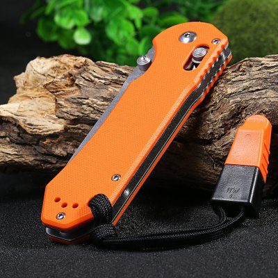 Ganzo G7452-OR-WS Axis Lock Pocket KnifePocket Knives and Folding Knives<br>Ganzo G7452-OR-WS Axis Lock Pocket Knife<br><br>Brand: GANZO<br>Model Number: G745<br>Lock Type: Axis Lock<br>Blade Edge Type: Fine<br>Blade Length Range: 5cm-10cm<br>Weight Range: 101g-200g<br>For: Adventure,Camping,Collecting,Hiking,Home use,Travel<br>Color: Army green,Black,Orange<br>Blade Material: 440C stainless steel<br>Handle Material: G10 handle<br>Fold Length: 12.0 cm<br>Unfold Length: 21.0 cm<br>Clip Length: 6.1 cm<br>Blade Length: 9.0 cm<br>Blade Width : 2.8 cm<br>Hardness: 58 HRC<br>Product weight: 0.142 kg<br>Package weight: 0.215 kg<br>Product size (L x W x H): 12.00 x 3.30 x 1.20 cm / 4.72 x 1.3 x 0.47 inches<br>Package size (L x W x H): 15.50 x 6.50 x 4.50 cm / 6.1 x 2.56 x 1.77 inches<br>Package Contents: 1 x Ganzo G7452 - OR - WS Pocket Knife, 1 x Storage Bag, 1 x Whistle