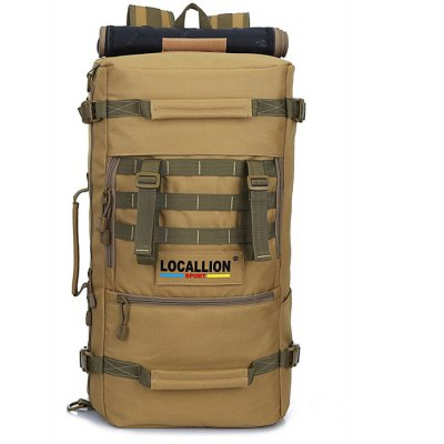 LOCAL LION 50L Water Resistant Trekking Backpack
