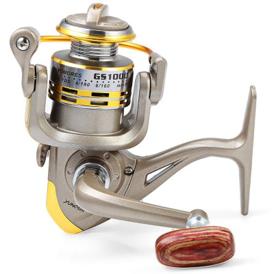 GS - 1000 12 Ball Bearings Spinning Fishing Reel 5.1 : 1