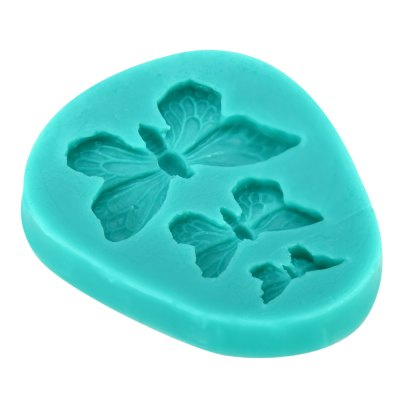 Silicone Butterfly Style Baking Mold Dessert Pastry Decorating ToolsCake Molds<br>Silicone Butterfly Style Baking Mold Dessert Pastry Decorating Tools<br><br> Product weight: 0.024 kg<br>Available Color: Cyan<br>Material: Silicone<br>Package Contents: 1 x  Butterfly Mold<br>Package size (L x W x H): 8.30 x 6.20 x 1.80 cm / 3.27 x 2.44 x 0.71 inches<br>Package weight: 0.044 kg<br>Product size (L x W x H): 7.30 x 5.20 x 0.80 cm / 2.87 x 2.05 x 0.31 inches<br>Type: Bakeware