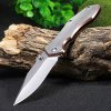 Sanrenmu 7030 LUC-SCY Frame Lock Pocket Knife