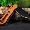 best Ganzo G7453P-OR-WS Axis Lock Pocket Knife