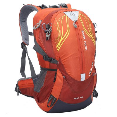 LOCAL LION 40L Nylon Water Resistant Cycling BackpackBackpacks<br>LOCAL LION 40L Nylon Water Resistant Cycling Backpack<br><br>Brand: LOCAL LION<br>Type: Backpack<br>For: Adventure,Camping,Climbing,Cycling,Fishing,Hiking,Other,Traveling<br>Material: Nylon<br>Features: Ultra Light<br>Backpack Capacity: 21~40L<br>Bag Capacity: 40 L<br>Color: Black,Blue,Green,Orange,Pink<br>Product weight: 1.350 kg<br>Package weight: 1.500 kg<br>Product size (L x W x H): 50.00 x 30.00 x 20.00 cm / 19.69 x 11.81 x 7.87 inches<br>Package size (L x W x H): 52.00 x 32.00 x 7.00 cm / 20.47 x 12.60 x 2.76 inches<br>Package Contents: 1 x LOCAL LION 40L Cycling Backpack