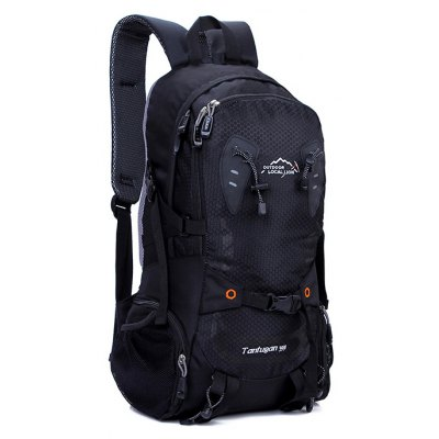 LOCAL LION 30L Nylon Water Resistant Camping Backpack