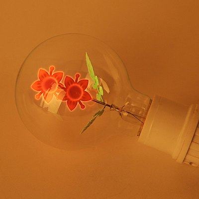 E27 3W 220Lm LED Edison Bulb Art Sunflower