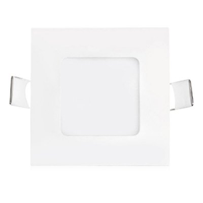 12W SMD 2835 860Lm Square Recessed LED Panel Light