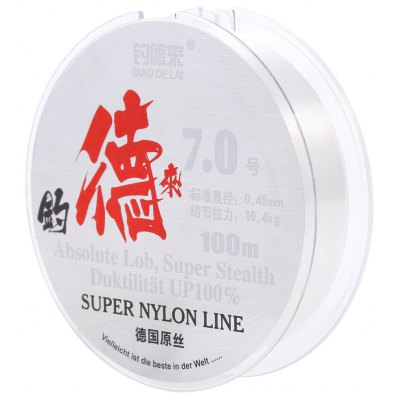 100M Nylon Spool Fishing Line