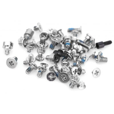 5 Packs Full 2X Bottom Star Screws Sets Replace Spare Parts for iPhone 5C
