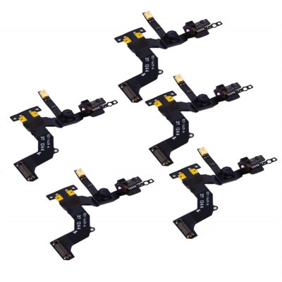 5Pcs / Set Front Camera with Sensor Flex Cable Ribbon Assembly Replace Parts for iPhone 5