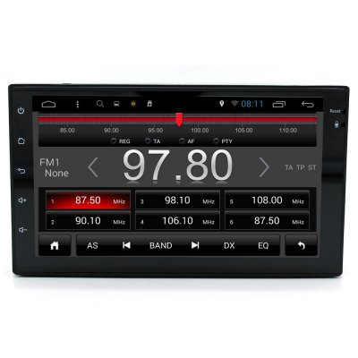 Junsun DVD-AN-7.0 Android 4.4 7.0 inch Car Media PlayerCar DVD Player<br>Junsun DVD-AN-7.0 Android 4.4 7.0 inch Car Media Player<br><br>Model: DVD-AN-7.0<br>Type: 2-DIN<br>Material: Electronic Components,Metal,Plastic<br>Installation Site: In-Dash<br>Screen type: Digital touch screen<br>Screen size: 7inch<br>Screen resolution: 1024 x 600<br>CPU Chips: Cortex A7<br>CPU Main Freq.: 1.6GHz<br>RAM (memory): DDR3 1GB<br>DVD Video Format: MPEG<br>USB/SD Video Format: AVI,DAT,DIVX,FLV,M4V,MKV,MOV,MP4,MPEG1,MPEG2,MPEG4,MPG,RM,RMVB,VOB,WMV<br>USB/SD Audio Format: AAC,APE,FLAC,MP3,OGG,WMA<br>USB/SD Picture Format: BMP,GIF,JPEG,PNG,TIFF<br>Media Format: AVI,FLV,JPEG,MKV,MP3,MP4,MPG,PMP,RM,RMVB,TP,VOB,WMA<br>OSD Language: Arabic,Chinese,Czech,English,etc,French,German,Italian,Japanse,Portuguese,Russian,Slovak,Spanish,Swedish,Turkish<br>Input: DC 10 - 16V<br>Product weight: 1.400 kg<br>Package weight: 2.050 kg<br>Product size (L x W x H): 18.50 x 16.50 x 10.20 cm / 7.28 x 6.5 x 4.02 inches<br>Package size (L x W x H): 27.80 x 27.80 x 18.70 cm / 10.94 x 10.94 x 7.36 inches<br>Package Contents: 1 x Car Media Player, 1 x GPS Antenna, 1 x RCA Cable Harness, 1 x USB Cable, 1 x Power Cable Harness, 1 x Metal Frame