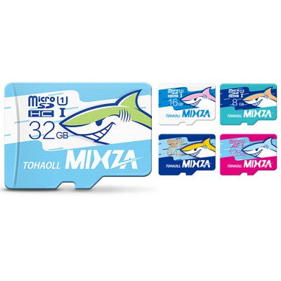 MIXZA TOHAOLL Ocean Series 32GB Micro SD Memory CardMemory Cards<br>MIXZA TOHAOLL Ocean Series 32GB Micro SD Memory Card<br><br>Brand: MIXZA<br>Compatible with: Canon EOS 300D, Canon EOS 30D, Canon EOS 20D, Canon EOS 350D, Canon EOS 10D<br>Memory Capacity: 32G<br>Memory Card Type: Micro SD/TF<br>Package Contents: 1 x MIXZA TOHAOLL Ocean Series Micro SD Memory Card<br>Package size (L x W x H): 10.00 x 13.00 x 0.50 cm / 3.94 x 5.12 x 0.2 inches<br>Package weight: 0.010 kg<br>Product size (L x W x H): 1.50 x 1.10 x 0.20 cm / 0.59 x 0.43 x 0.08 inches<br>Product weight: 0.001 kg<br>Read Speed: 80MB/s